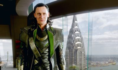 Here's a delightful video of Tom Hiddleston falling on his face during 'Loki' prep