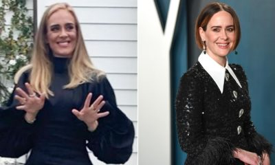 Sarah Paulson responds to fans saying she looks like Adele
