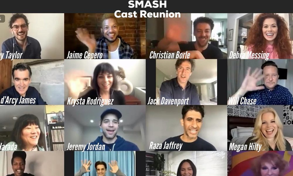 Watch Smash cast reunion and Bombshell concert event