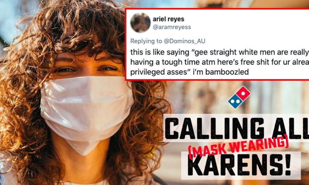 """Domino's Decided To Give Away Free Pizza To """"The Nice Karens"""" And The Internet Tore 'Em A New One"""