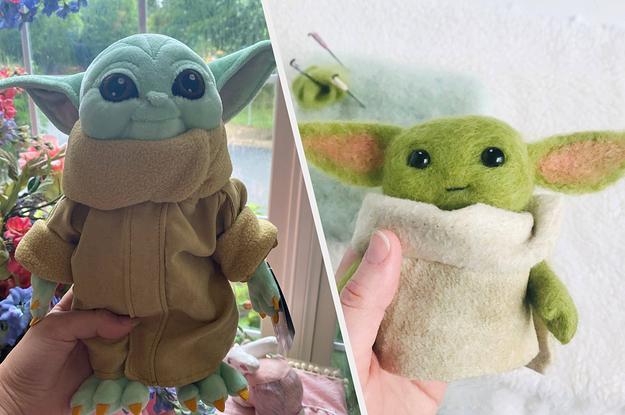 Everywhere You Can Buy A Baby Yoda Plush Doll