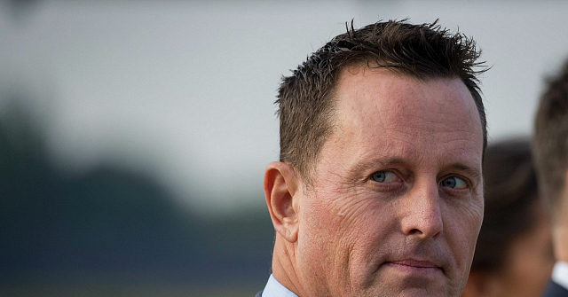 Exclusive– Richard Grenell on Trump: 'He Doesn't Play Identity Politics'