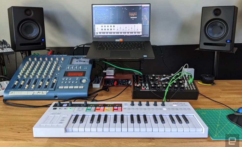 Arturia's KeyStep Pro is a near-perfect MIDI controller for hardware synths
