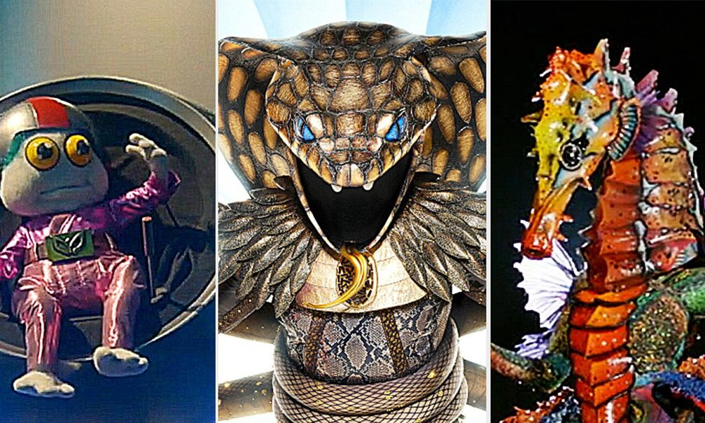 'The Masked Singer' reveals 3 new costumes and clues for all season 4 celebrities – Entertainment Weekly