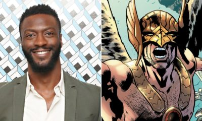 Aldis Hodge cast as Hawkman in DC's Black Adam movie